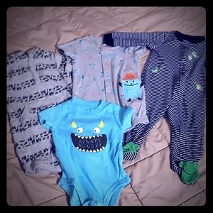 Like New Carter's One-Piece Lot
